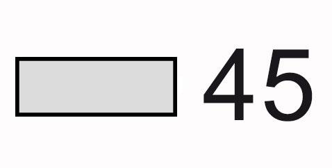 Ancho 45