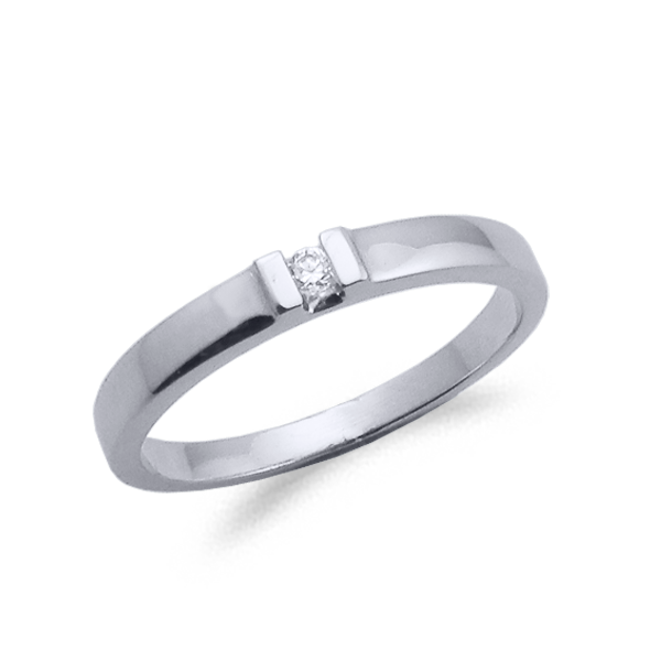 SORTIJA OR Y DIAMANTE 0.03ct MODELO 29377